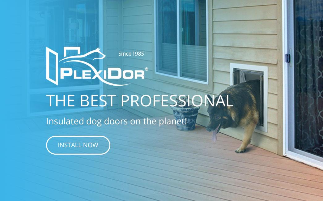 Plexidor Insulated Dog Doors